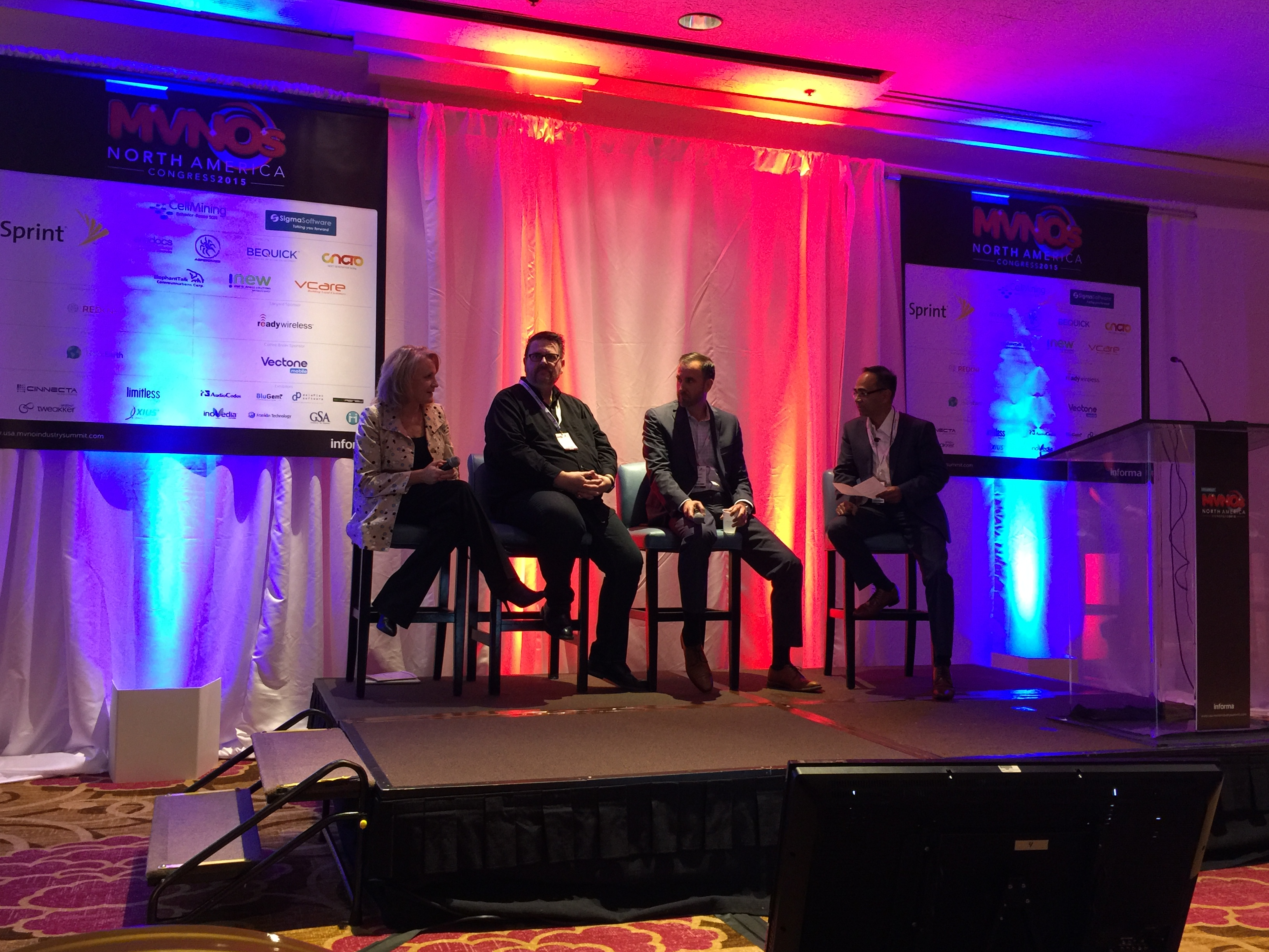 Sigma Software MVNOs North America Congress panel discussion